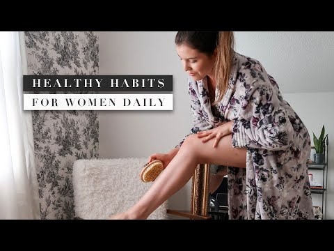 10 Daily HEALTHY HABITS for Women You Need to Start Today | by Erin Elizabeth
