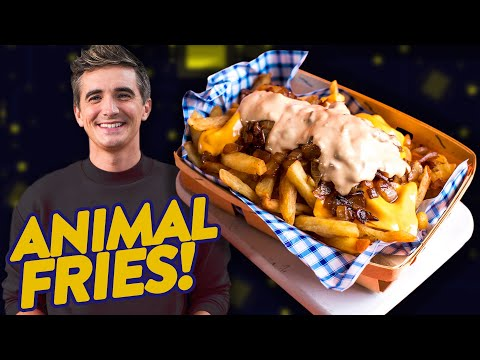 Can I Make Animal Style Fries?! DIY IN & OUT • CLICKPLATE