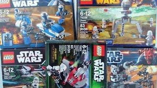 LEGO Star Wars  -BattlePacks