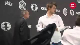 Магнус Карлсен на эмоциях!!!