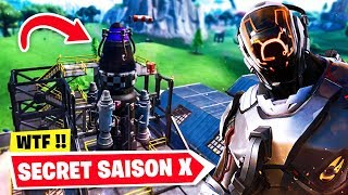 This is the SECRET of SAISON 10 on Fortnite. (Rocket, Visitor - Cube)
