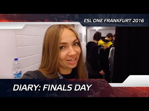 Diary: Finals day @ ESL One Frankfurt 2016 (ENG SUBS!)