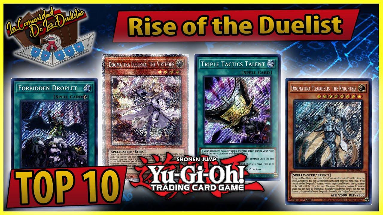 Yu-Gi-Oh! Rise of the Duelist LAS CARTAS MEJOR PAGADAS (Precios)