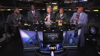 Inside the NBA: Draymond Green Joins Live Postgame