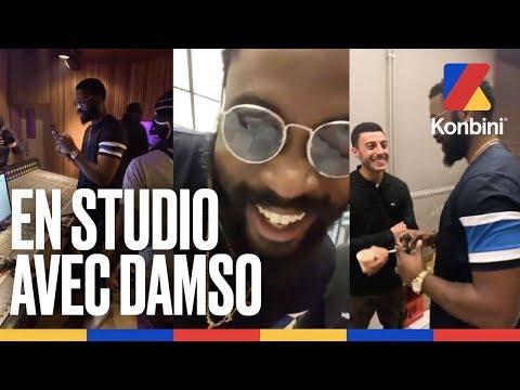 Youtube: Une nuit en studio avec Damso – De«Œveillé» à QALF | Konbini