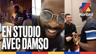 """Une nuit en studio avec Damso - De """"Œveillé"""" à QALF   Konbini"""