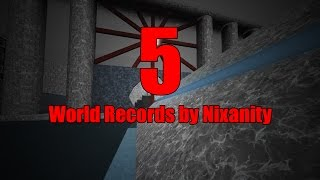 5 Surf World Records by Nixanity (ROBLOX)