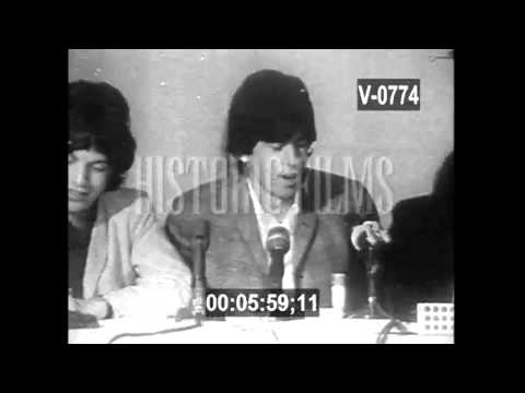 Rolling Stones Press Confrenece 1965.