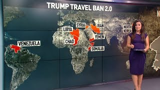 Trump's new travel ban: Who's in, who's out