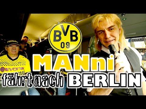 MANni fährt die Fans von Borussia Dortmund nach Berlin
