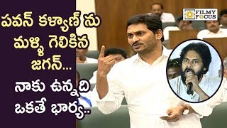 YS Jagan Satirical Comments on Pawan Kalyan Marriages in Assembly
