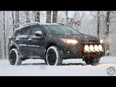 Subaru Crosstrek Sti Wheels >> 2018 Subaru Crosstrek Review | 1 Month & Modifications! - YouTube