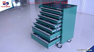 Tủ dụng cụ 7 ngăn Jonnesway 136 chi tiết C-7DW136