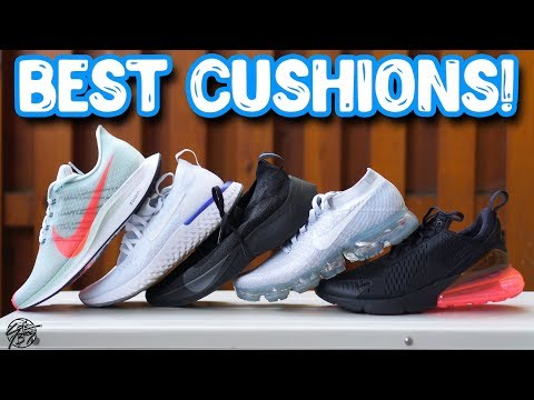 Top 5 Most Comfortable Cushions! React? ZoomX? Hovr? Boost?