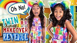 Twin Makeover Revenge - Funny Sisters : The Evangeline Show // GEM Sisters