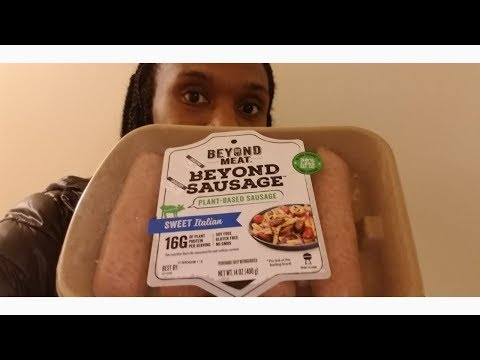 Beyond Meat Beyond Sausage/ Come cook and eat with me