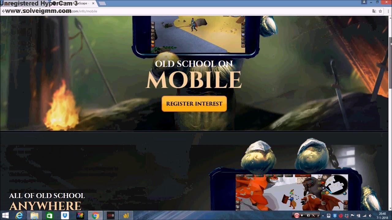 OSRS Mobile Client Exploit