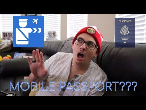 Lets Get Into It: Mobile Passport
