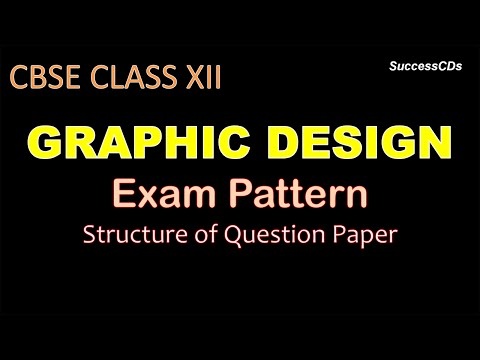 CBSE Class 12 Graphic design exam pattern and Question Paper Design