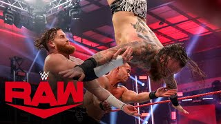 Aleister Black & Humberto Carrillo vs. Murphy & Austin Theory: Raw, May 25, 2020