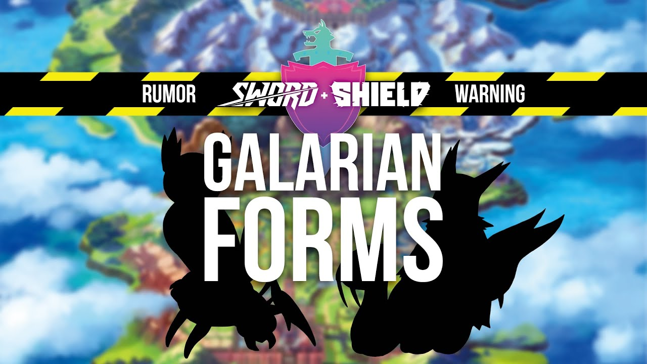 RUMOR: Pokémon Direct Predicted, Along With Galarian Form
