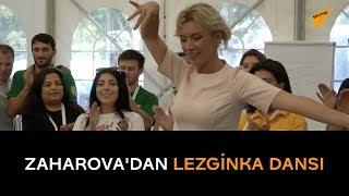 Zaharova'dan lezginka dansı