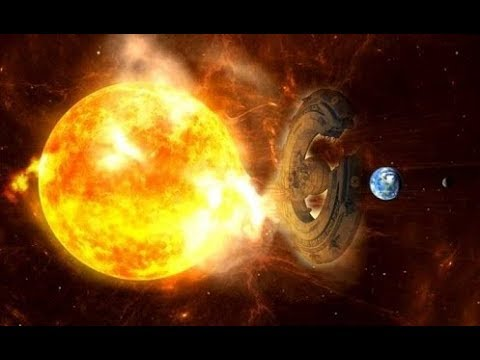 "A huge ""UFO"" interacted with the Sun to avoid a powerful ""Solar Storm"" directed to Earth!"