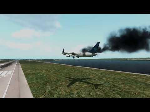 GARUDA 737 Crash at Bali Airport