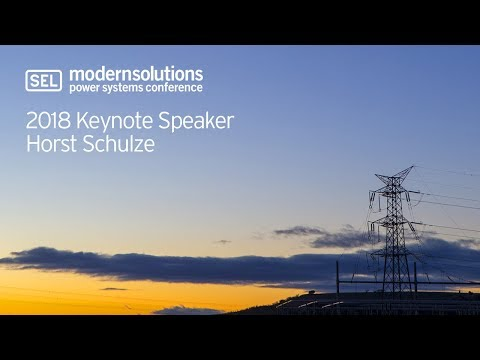 MSPSC 2018 Keynote Speaker Horst Schulze - YouTube