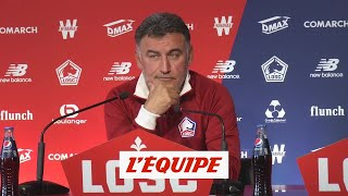 Pour Galtier, la réforme de la Ligue des champions «va tuer le football»  L1 - Losc