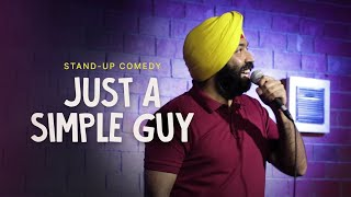 Just a Simple Guy| Stand-Up Comedy| Vikramjit Singh| It Gets Worse 3
