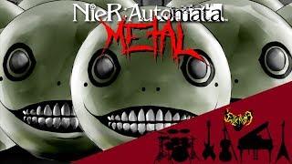 NieR: Automata - Emil - Despair 【Intense Symphonic Metal Cover】