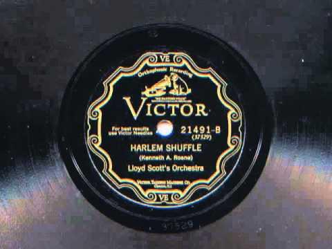 Harlem Shuffle by Lloyd Scott's Orchestra, 1927