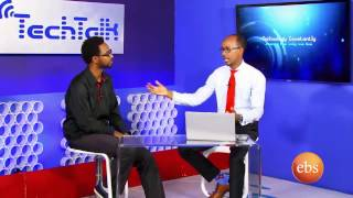 Interview With Cool Amharic Keyboard App Developer S6 Ep. 12 -  /  TechTalk With Solomon