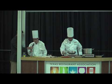 TRA Marketplace 2018: Texas ProStart Demo - South San Antonio High School