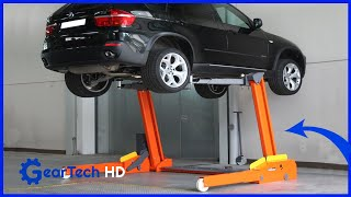 Amazing car lifts you have to see ▶ air bag lift