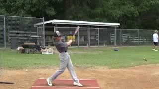 Carson Simmons class of 2020 catcher and 3rd base highlights