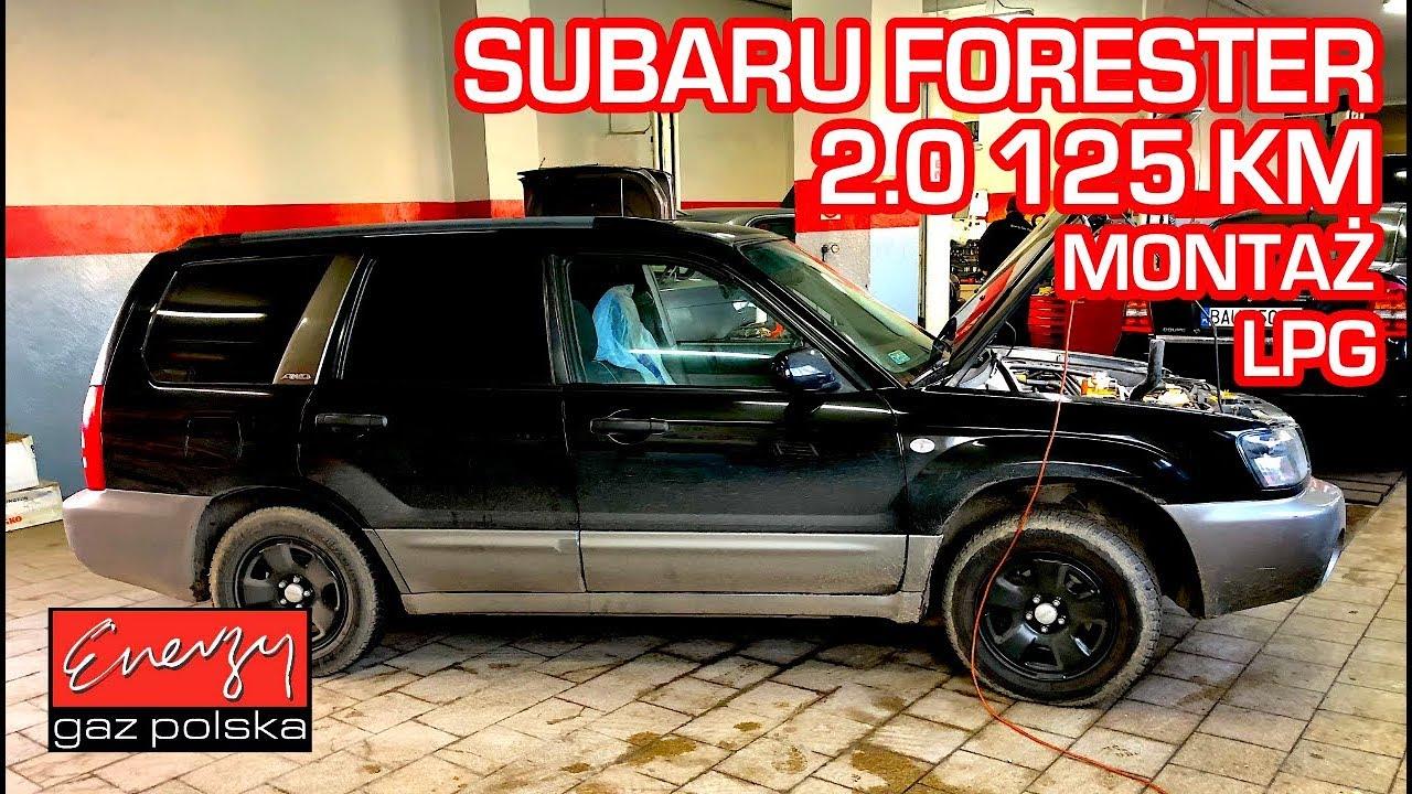 Montaż LPG Subaru Forester z 2.0 125KM 2005r w Energy Gaz Polska na gaz KME Nevo