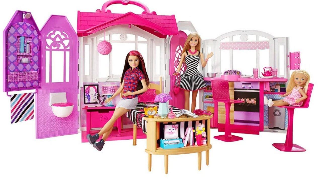 mainan anak perempuan rumah barbie terbaru