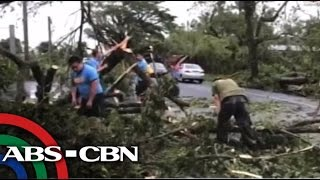 Glenda-hit in Albay starts clearing operations