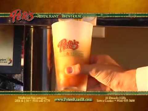 Original Pete's El Dorado Hills, CA (916)933-3400 - Food Take Out - Pizza Delivery - Brewhouse