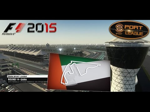 Sport League #19 GP Abu Dhabi F1 2015 11.04.16 - Live Streaming HD