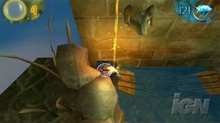 Fading Shadows Sony PSP Gameplay - Moving a Rock