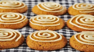 Pumpkin Cookies Recipe Demonstration - Joyofbaking.com