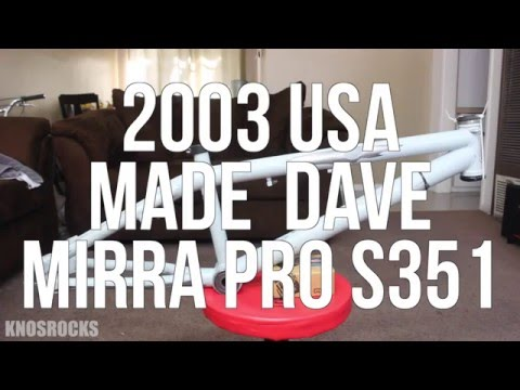2003 Haro USA Made Dave Mirra Pro S351 Frame #MirraTribute Restore & Rebuild Part 1