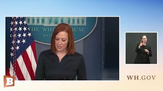 "Jen Psaki Defends Embattled Michigan Gov. Gretchen Whitmer: ""She's Done a Tremendous Job"""