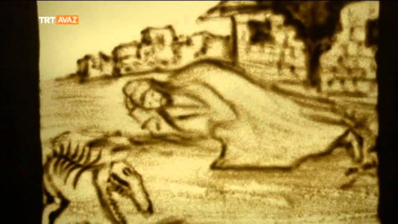 Hz. Üzeyir Peygamberin Kum Sanatıyla Hikayesi Anlatılıyor - TRT Avaz