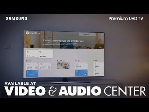 Make a Connected Life Easier with Samsung 2018 Premium UHD 4K TVs