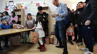 Potaissa Turda la adăpostul de copii (06.12.2018)