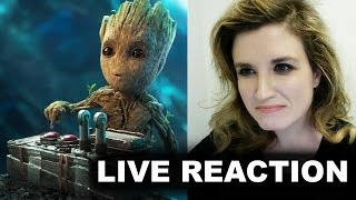 Guardians of the Galaxy 2 Teaser Trailer Reaction